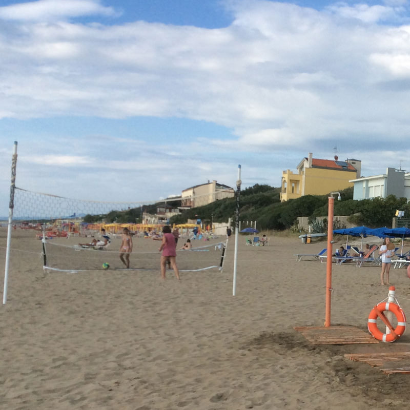 Rete da beach volley